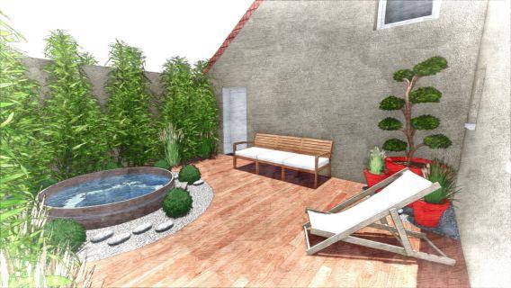 O2La - Amenagements De Jardins En 3D
